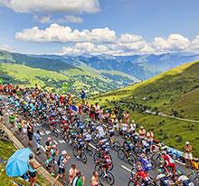 Ambiance Tour de France 2018 vélo