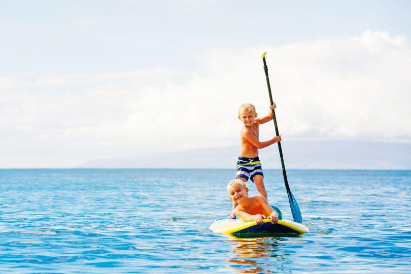 camping avec sports nautiques