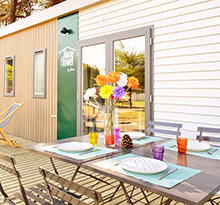 homeflower, mobil-home premium by flower campings