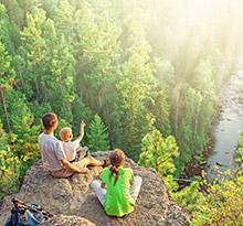 camping activite plein air randonnee