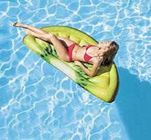 matelas gonflable kiwi Raviday piscine