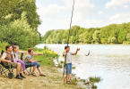 Camping pour la pêche