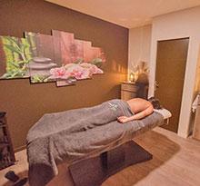 Flower Camping Le Robin salle de massage