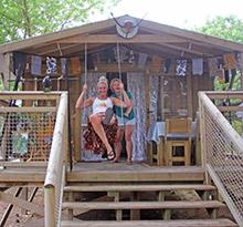 Lidia et Diana pimp your lodge