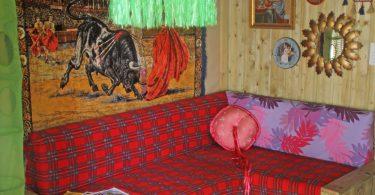 Pimp your lodge création de Marianne et Lydia camping Bel Air