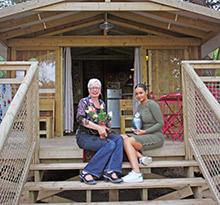 Marianne et Layla pimp your lodge