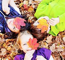 vacances nature en automne vacances de la Toussaint