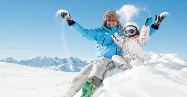 vacances en camping au ski avec enfants