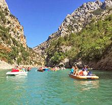 camping en provence, sejouren camping dans les gorges du verdon