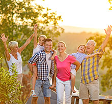 vacances en famille en camping nature
